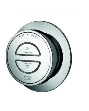 Digital controller Quartz-Quartz Shower - Divert - (2 button) Chrome (2018)