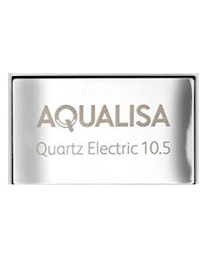 Quartz Electric Shower Badge - 10.5kW