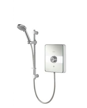 Lumi Electric 10.5kW with adjustable head - White/Chrome