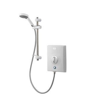 Quartz Electric Shower 8.5kW in White