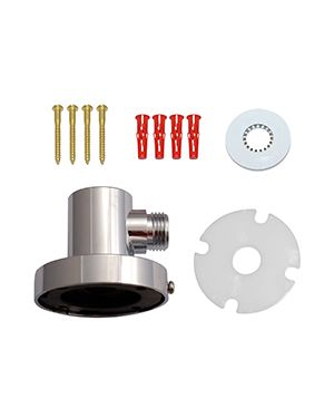 Adjustable Shower Head Wall Outlet Assembly