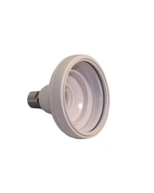 Varispray Fixed Shower Head Shell (Plastic Arm) - White