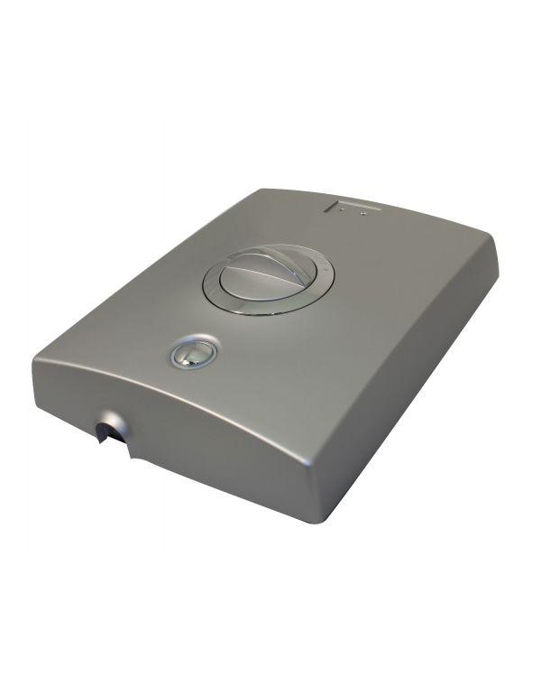 Quartz Electric Shower Front Cover - Satin Chrome