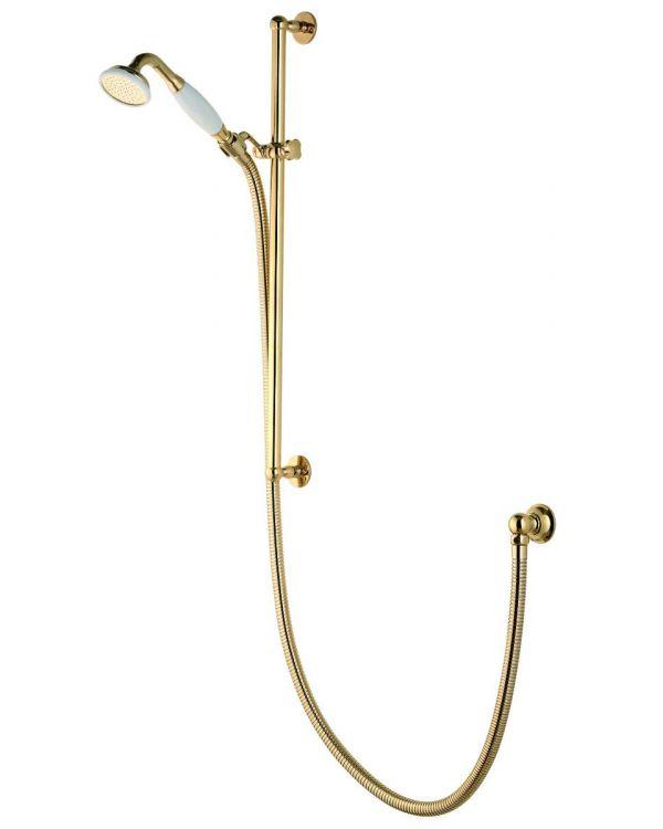 Aquatique concealed adjustable shower head - Gold