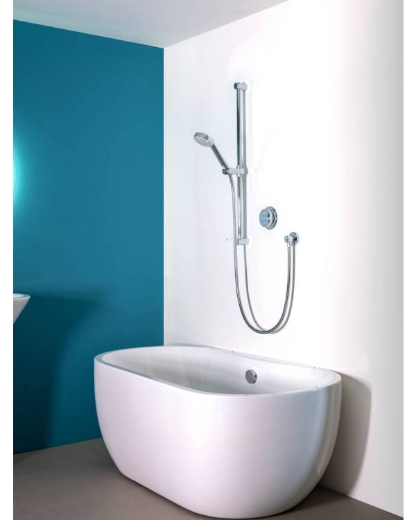 Digital bath shower mixer Quartz