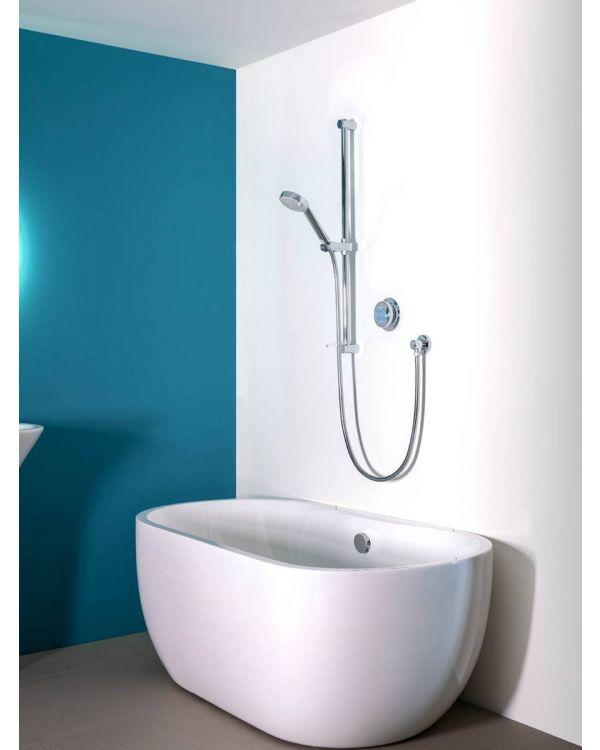 Digital bath shower mixer Quartz