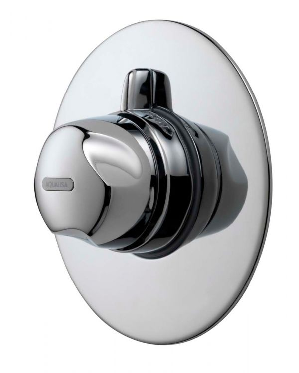 Concealed thermostatic mixer shower valve Aquavalve  700 Chrome
