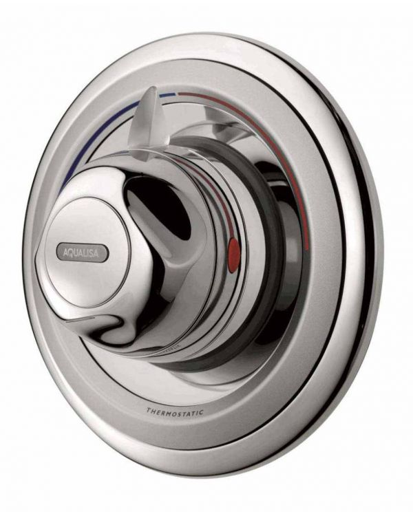 Concealed thermostatic mixer shower valve Aquavalve 609 Chrome