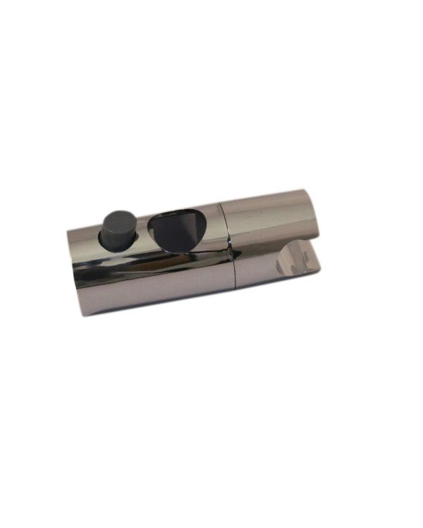 Push Button Shower Head Holder 25mm  - Chrome