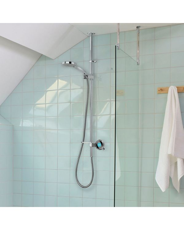 Digital exposed shower mixer Q