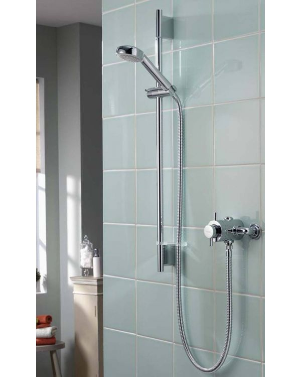 exposed mixer shower Aspire