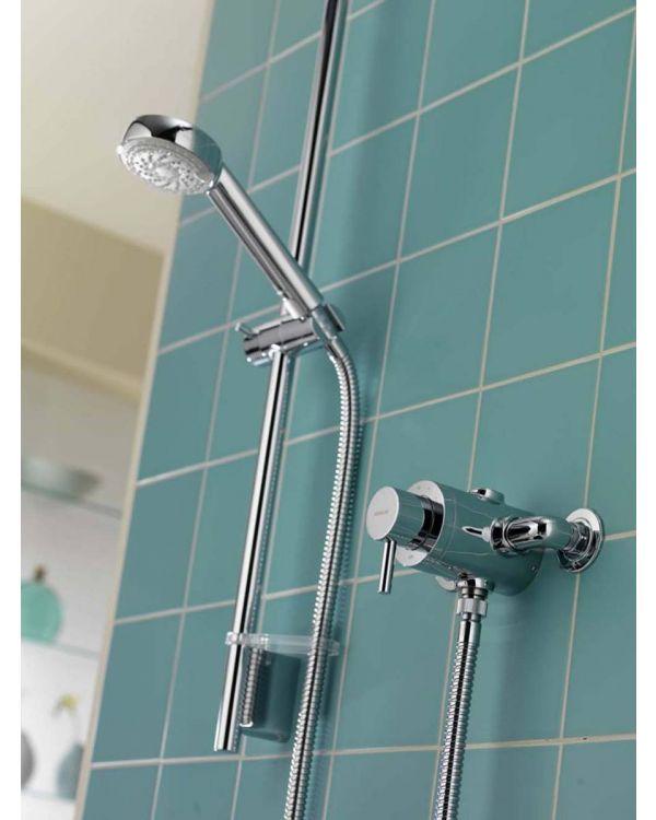 Exposed mixer shower Siren