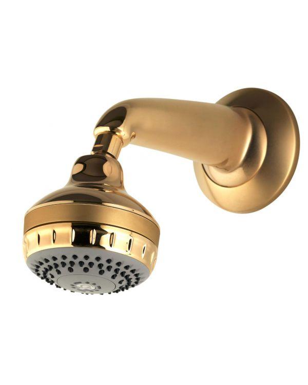 Fixed concealed shower head kits Varispray - Gold