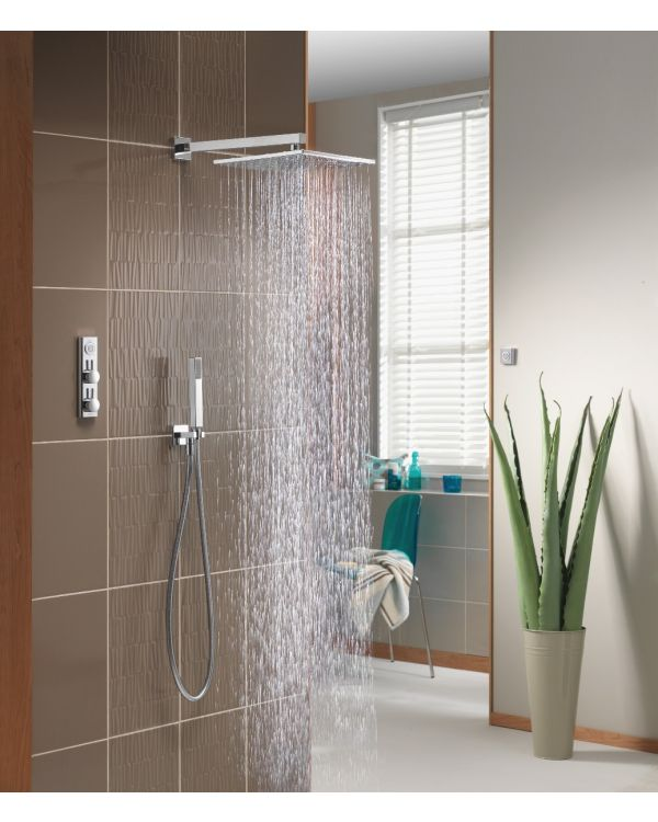 Digital concealed mixer shower HiQu