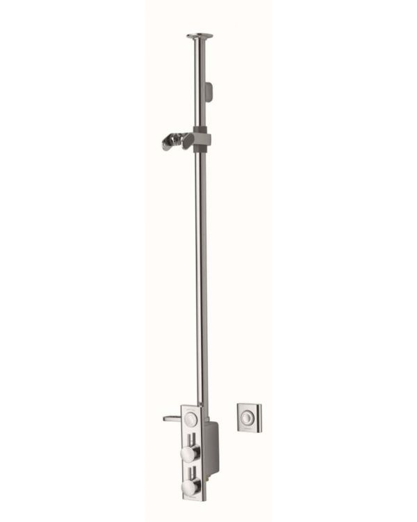 Exposed digital mixer shower HiQu Premier Collection