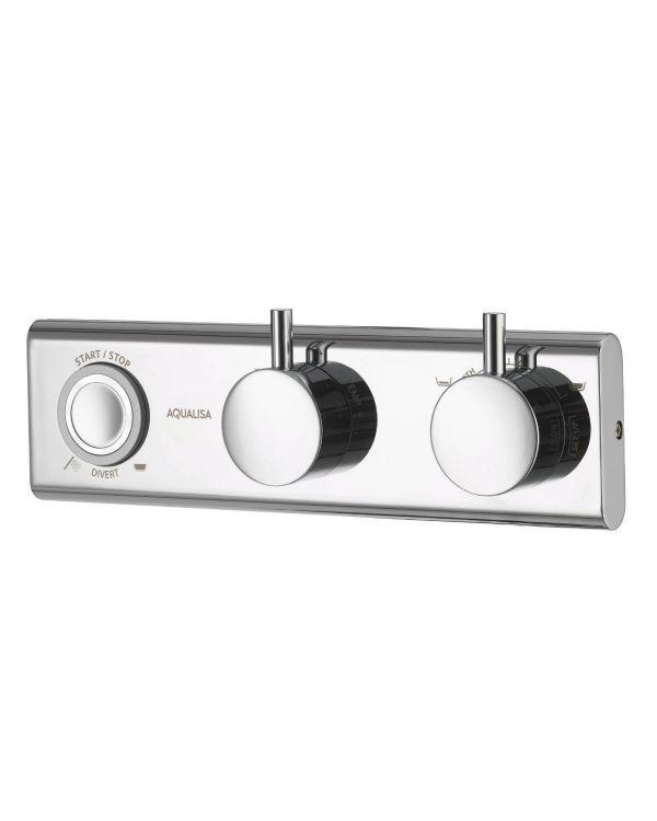 HiQu Concealed Digital Bath/Handshower Divert - HP/Combi