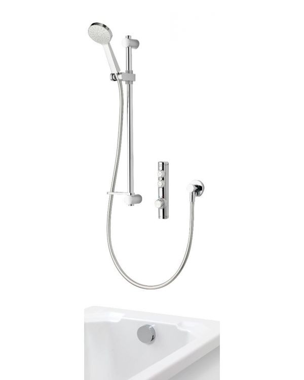 Digital bath shower mixer Isys