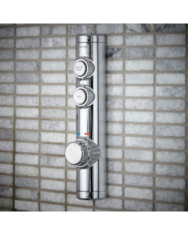 Concealed digital mixer shower Isys