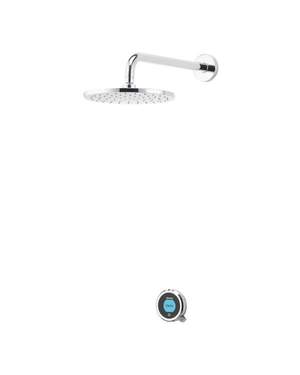 Optic Q Smart Digital Shower Concealed with Fixed Head (HP/Combi)