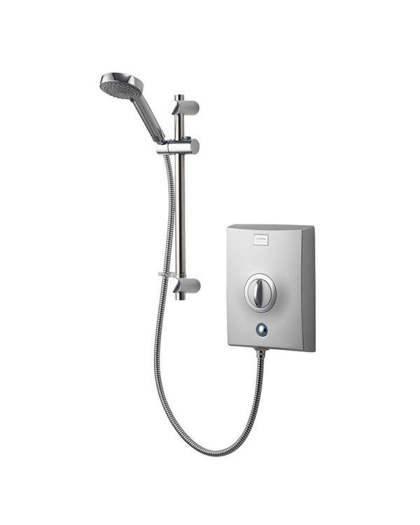 Quartz Electric Shower 10.5kW - Chrome