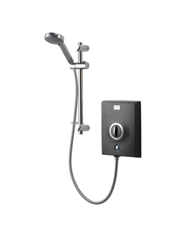 Quartz Electric Shower 10.5kW - Graphite