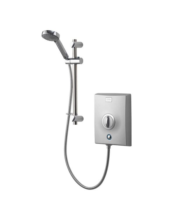 Quartz Electric Shower 8.5kW - Chrome