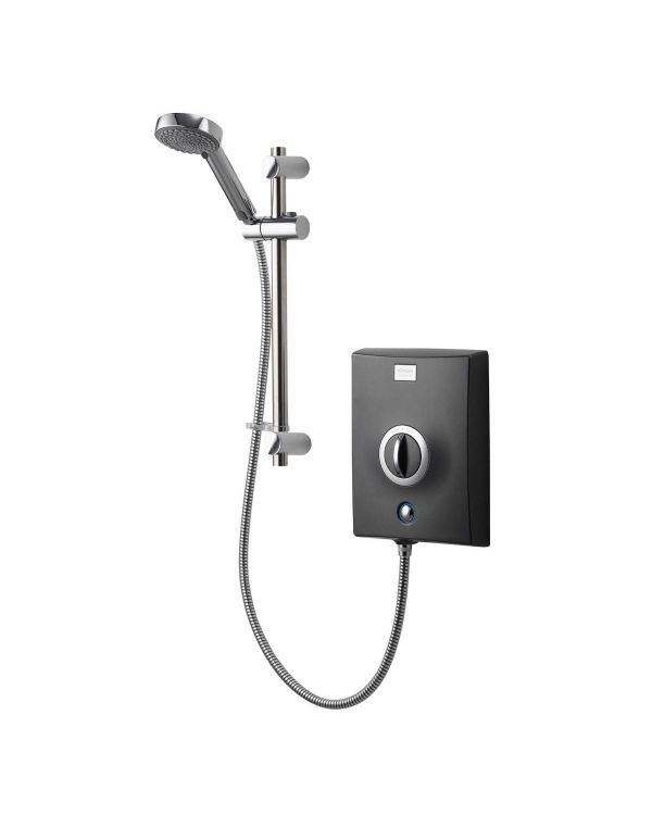 Quartz Electric Shower 9.5kW - Graphite