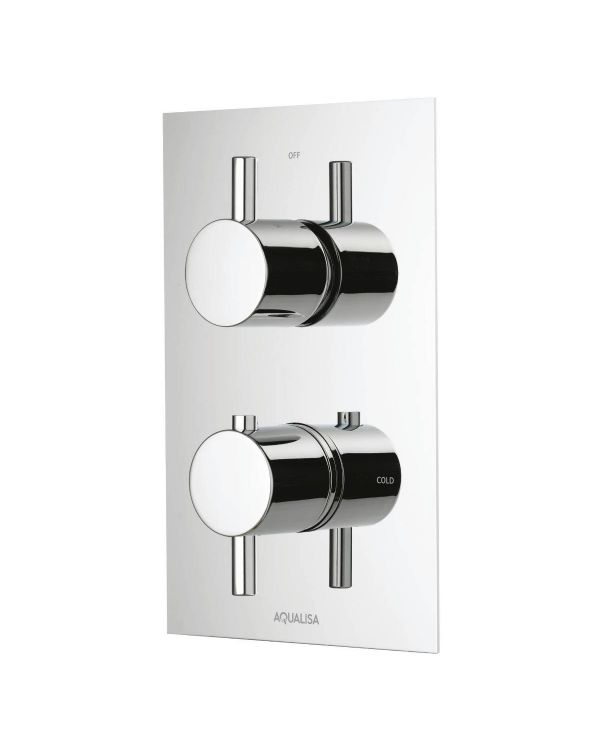 Rise DCV Single Outlet mixer shower (HP/Combi)