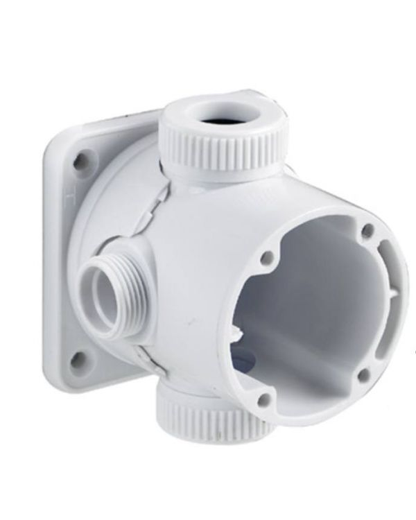 Shower cartridge body plug outlet Aquavalve