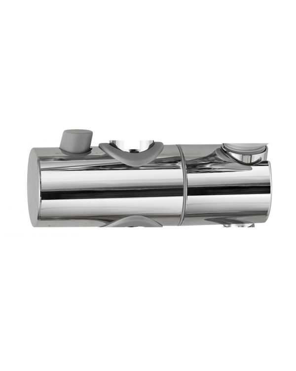Sliding shower head holder 22mm - Chrome