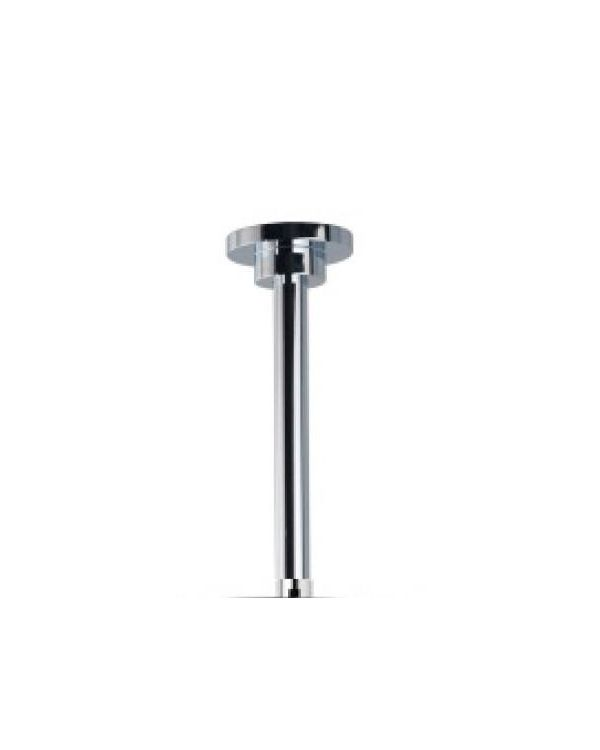 Fixed shower drencher head Ceiling straight arm