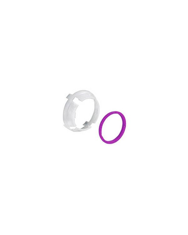Shower temperature override and location ring Dream