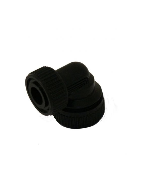 Aquavalve 200/400 22mm Inlet Elbows (x2) - Black