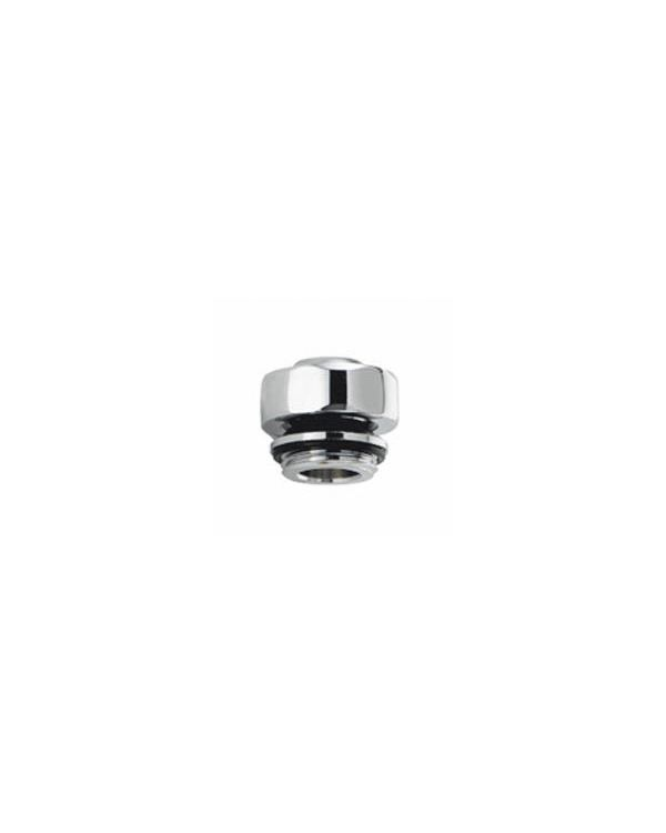 Traditional Fixed Head Ball Joint Connector - Chrome