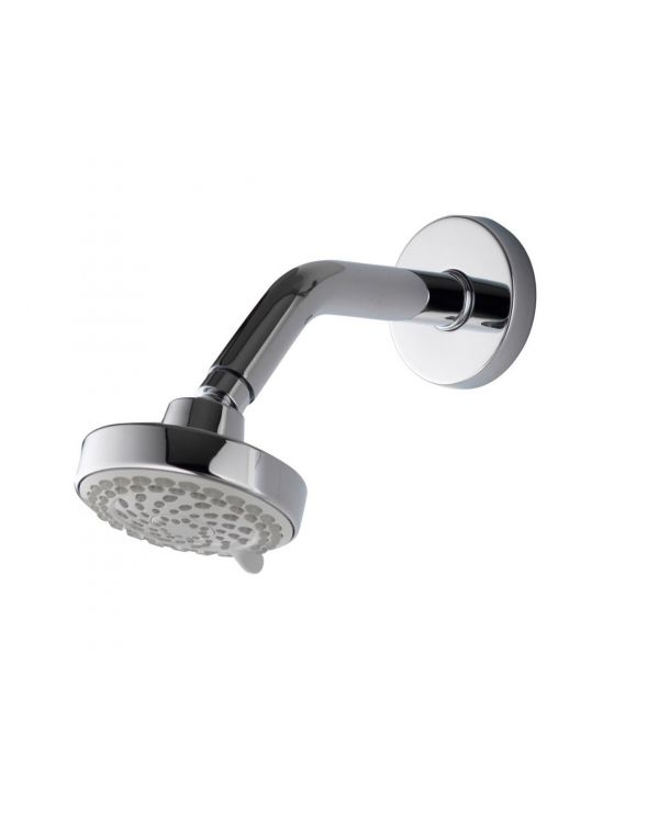 105mm Harmony Fixed Head with Shower Arm