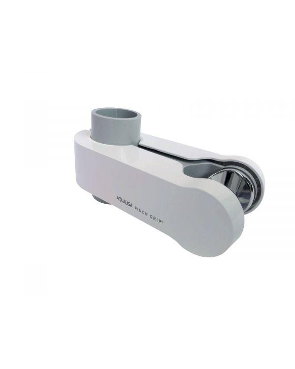 Pinch Grip Shower Head Holder - White, 25mm