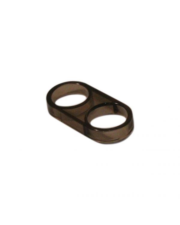 25mm Hose ring - Smoked