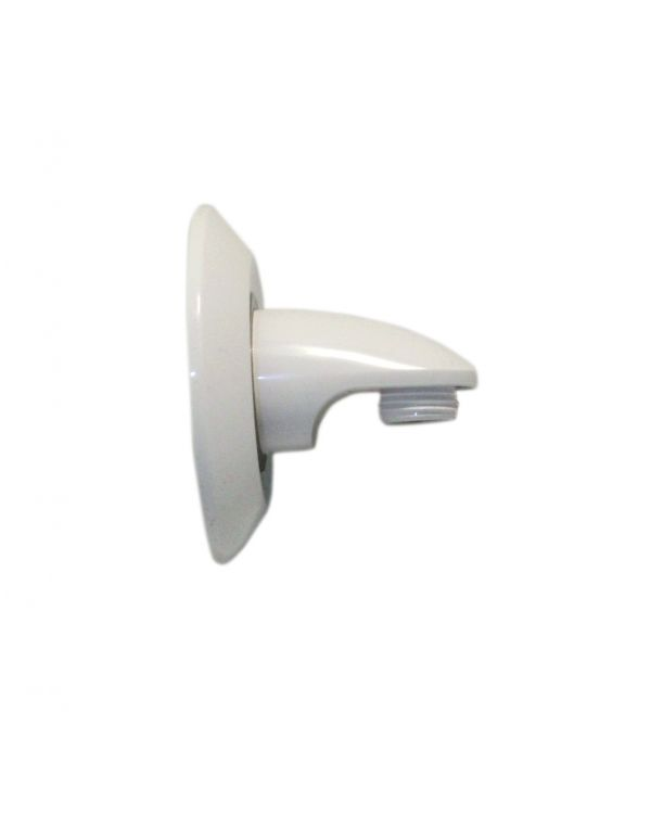 Varispray Adjustable Shower Head Wall Outlet/Cover Plate - White