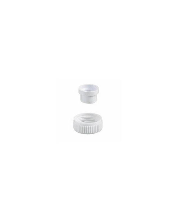Aquavalve 200/400 Outlet Blanking Plug, 22mm - White