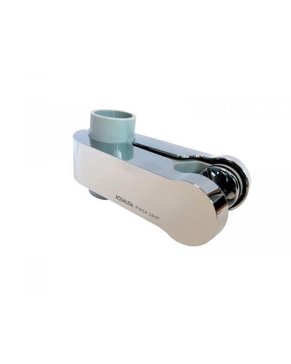 Pinch Grip Shower Head Holder - Chrome, 25mm