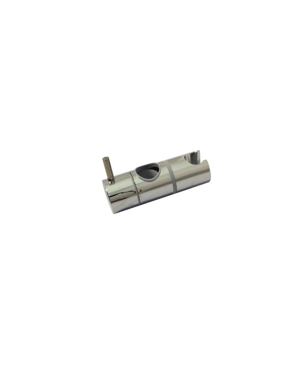 Sliding shower head holder 25mm - Chrome