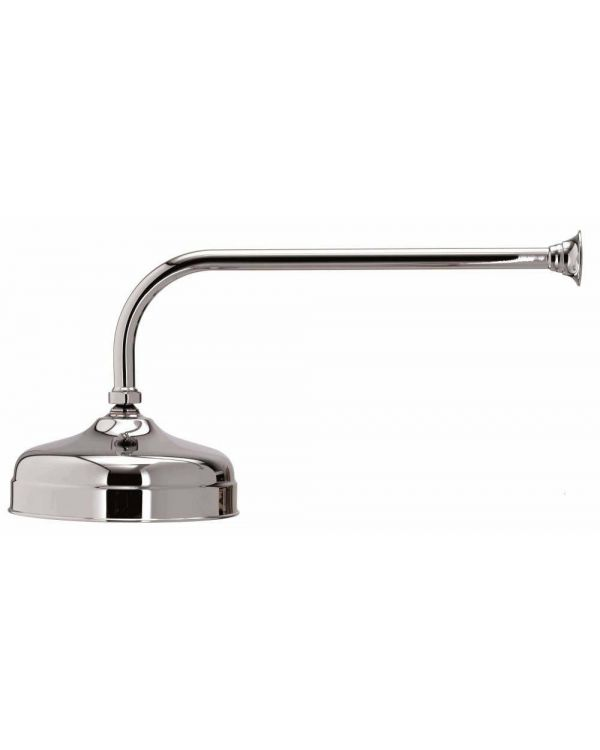 Aquatique concealed fixed shower head - 200cm, Chrome