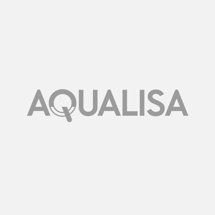 Exposed shower mixer valve Aquarian white/chrome